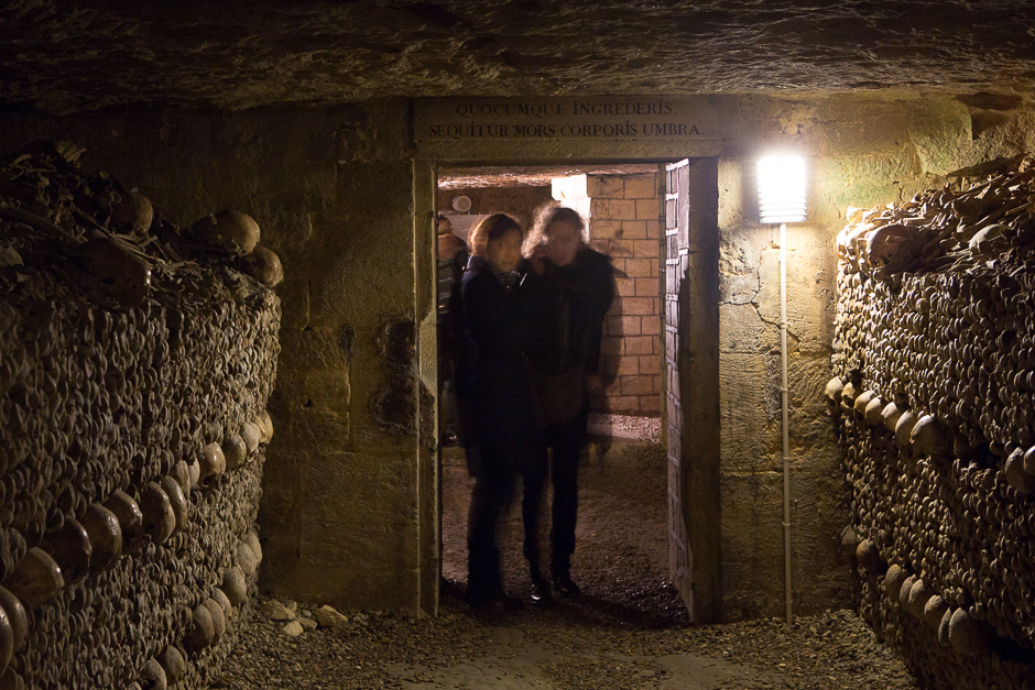 Underground of Paris - The Catacombs, 2013