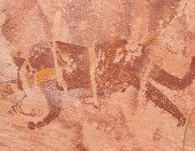 ROCK ART OF GILF KEBIR, EGYPT          エジプト、ギルフ・ケビールの岩壁画